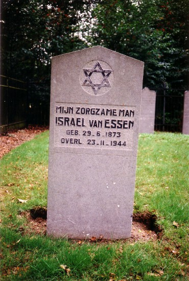 Grafmonument Israël van Essen (zerk nr. 14)