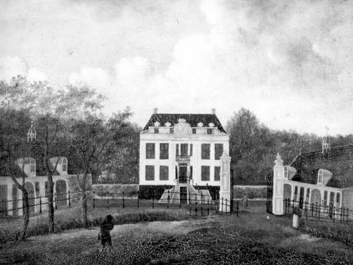 Havezathe Kranenburg in 1840