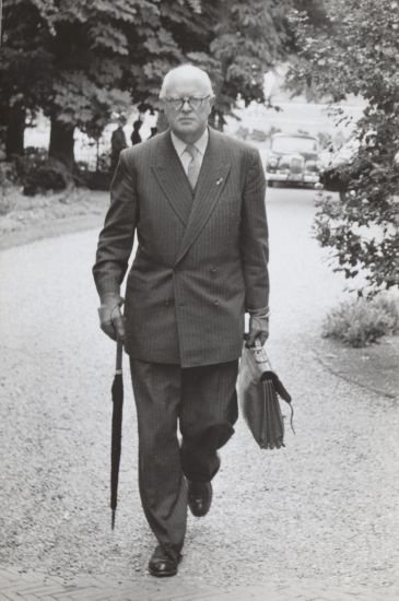 Carl Romme, 12 juli 1956. Fotograaf onbekend, Nationaal Archief / Anefo, CC0.