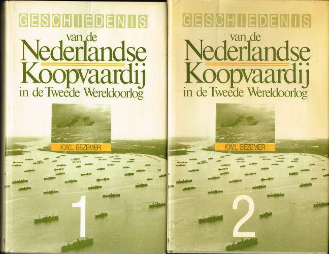 Geschiedenis van de Nederlandse koopvaardij in de Tweede Wereldoorlog (2 dln)